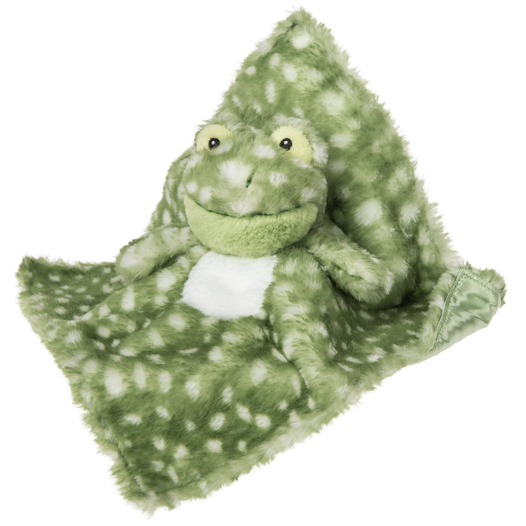 Fizzy Frog Character Blanket – 12×12″ - Mary Meyer - joannas-cuties