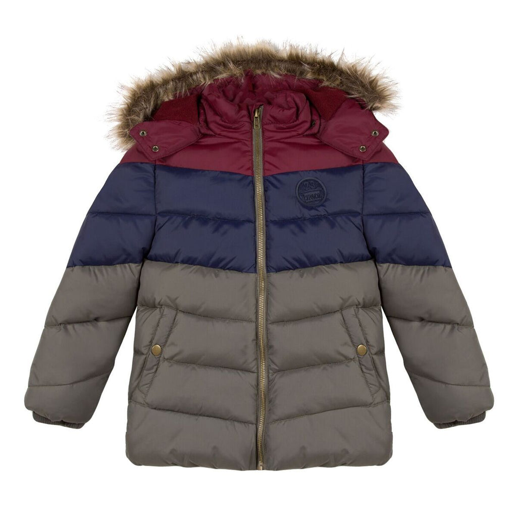 Fleece Lined Padded Jacket - 3 Pommes - joannas-cuties