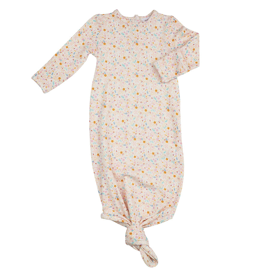 Floral Companion To Dino Knotted Gown-Angel Dear-Joanna's Cuties