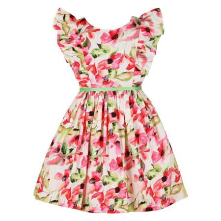 Floral Power Dress, Bambiola - Joanna's Cuties