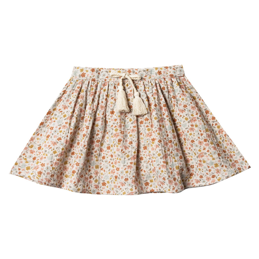 Flower Field Mini Skirt-Rylee + Cru-Joanna's Cuties