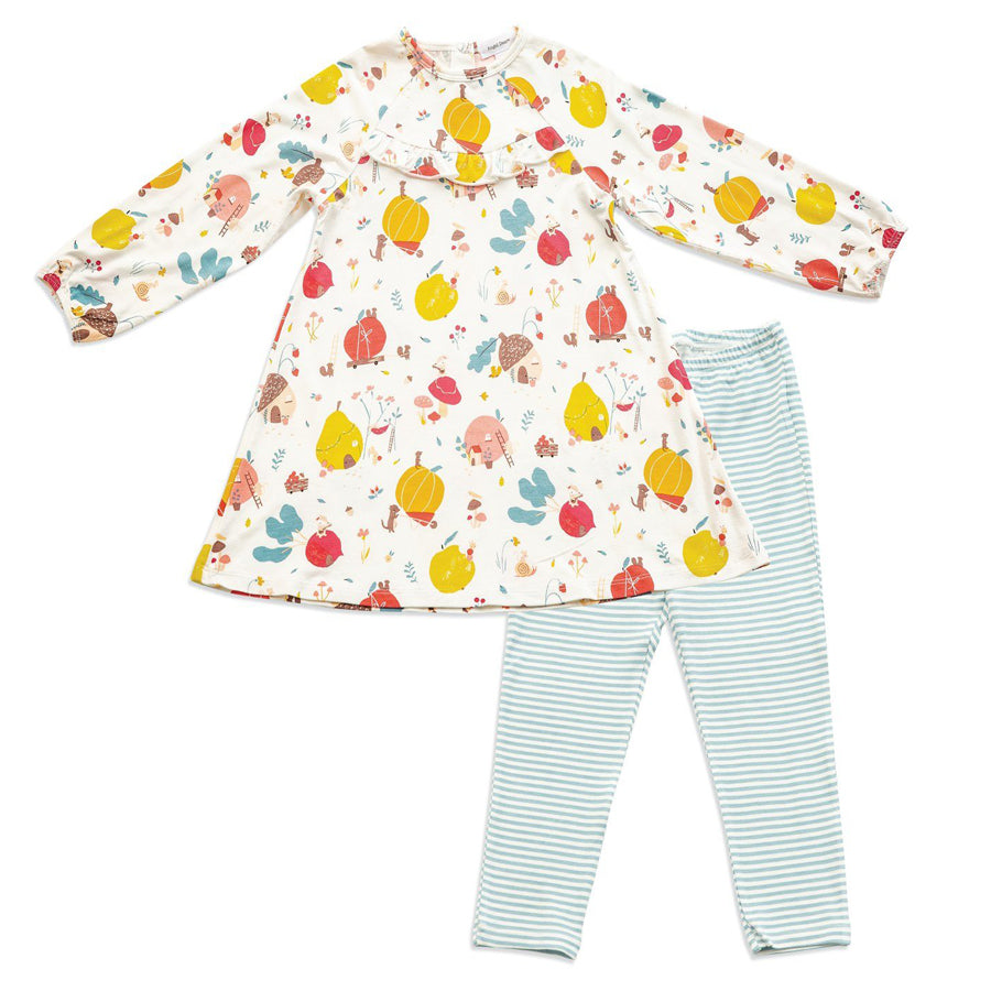 Fruit Homes Dress and Legging Set - Angel Dear - joannas-cuties