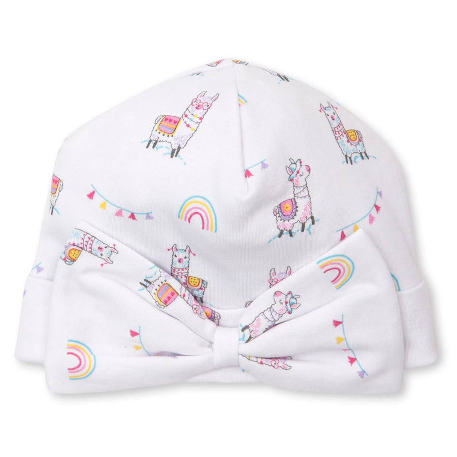 Fun Loving Llamas Hat With Bow-Kissy Kissy-Joanna's Cuties