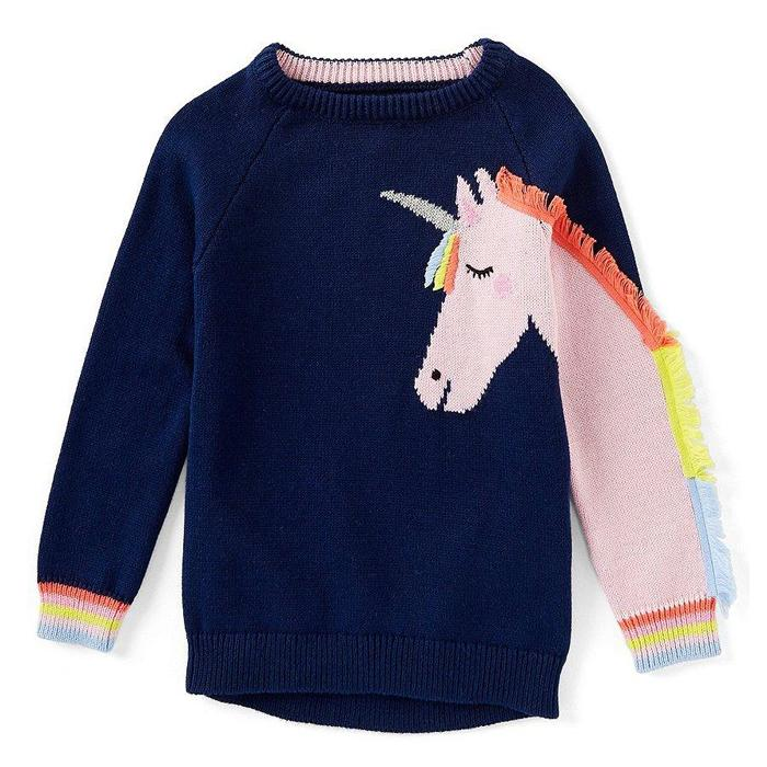 Gee Gee Unicorn Knited Sweater, Joules - Joanna's Cuties