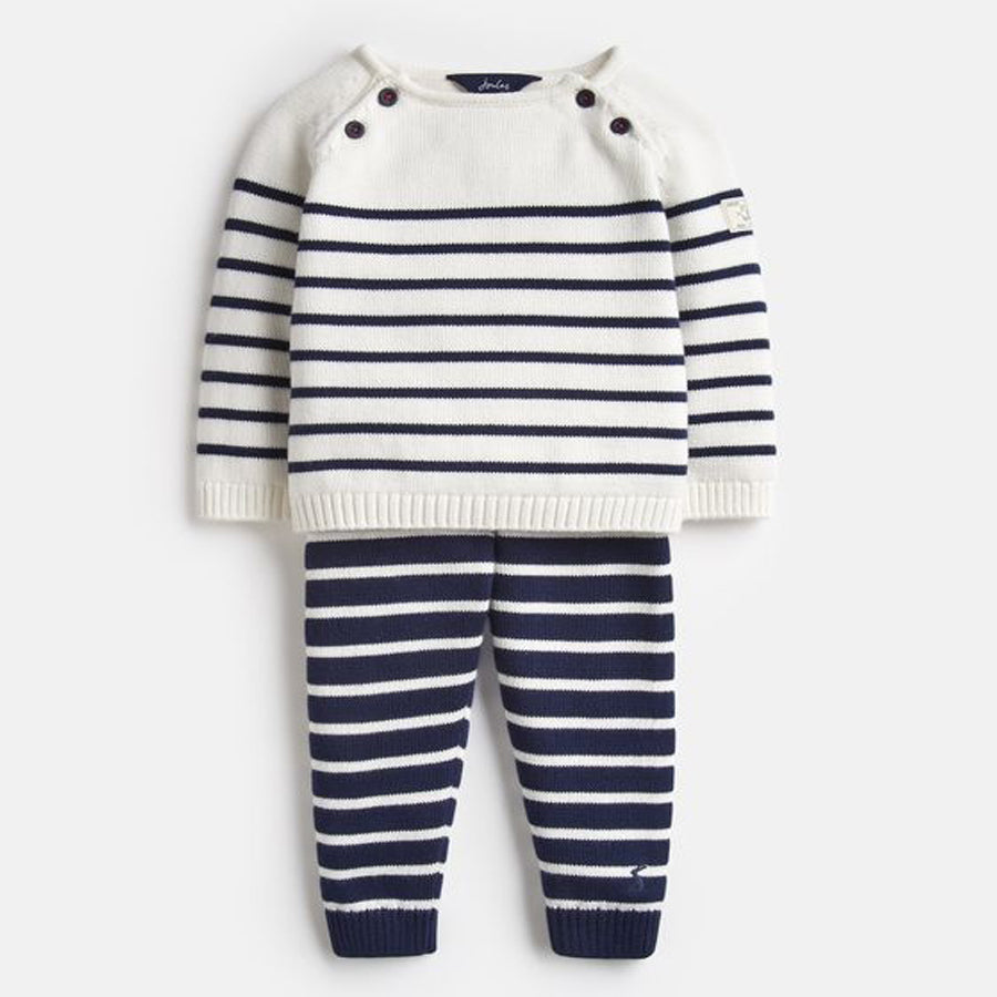 Knitted Top And Pants Set - Joules - joannas-cuties