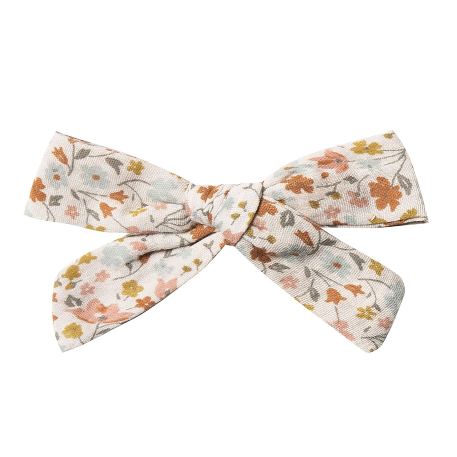 Girl Bow With Clip - Flower Field-Rylee + Cru-Joanna's Cuties