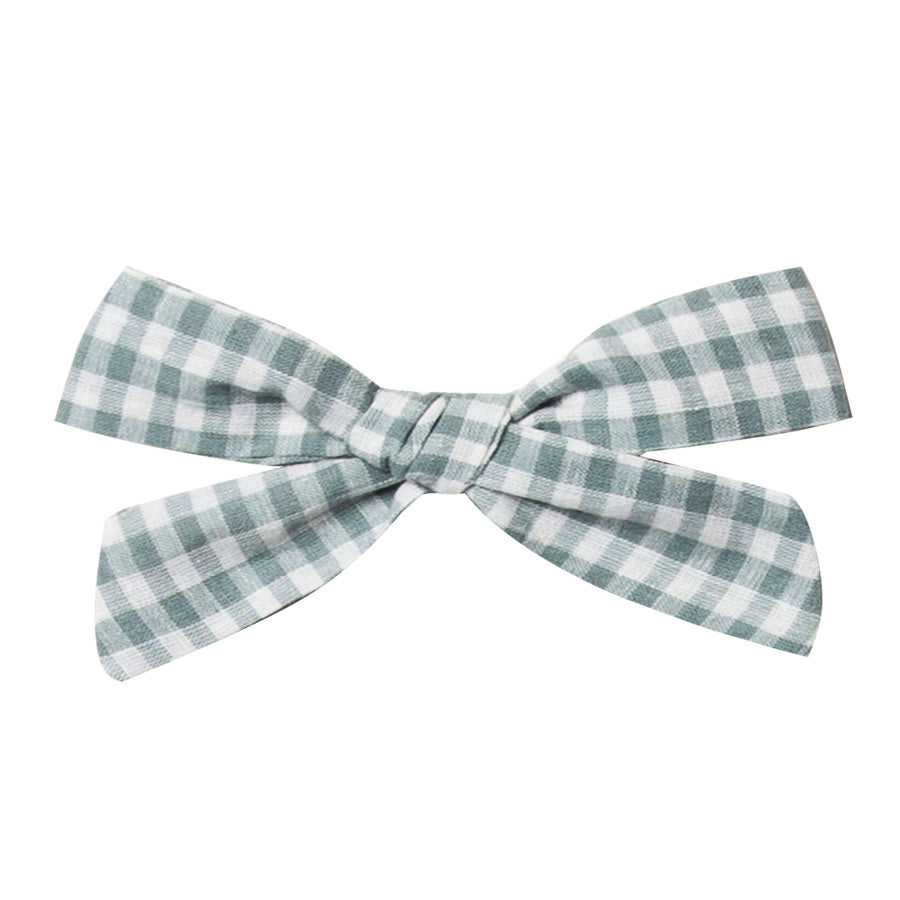 Girl Bow - Gingham-Rylee + Cru-Joanna's Cuties