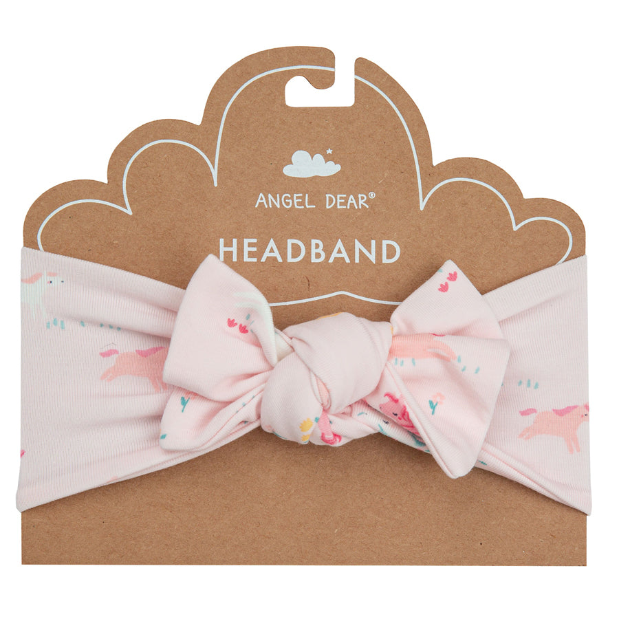 Girl Ponies Headband-Angel Dear-Joanna's Cuties