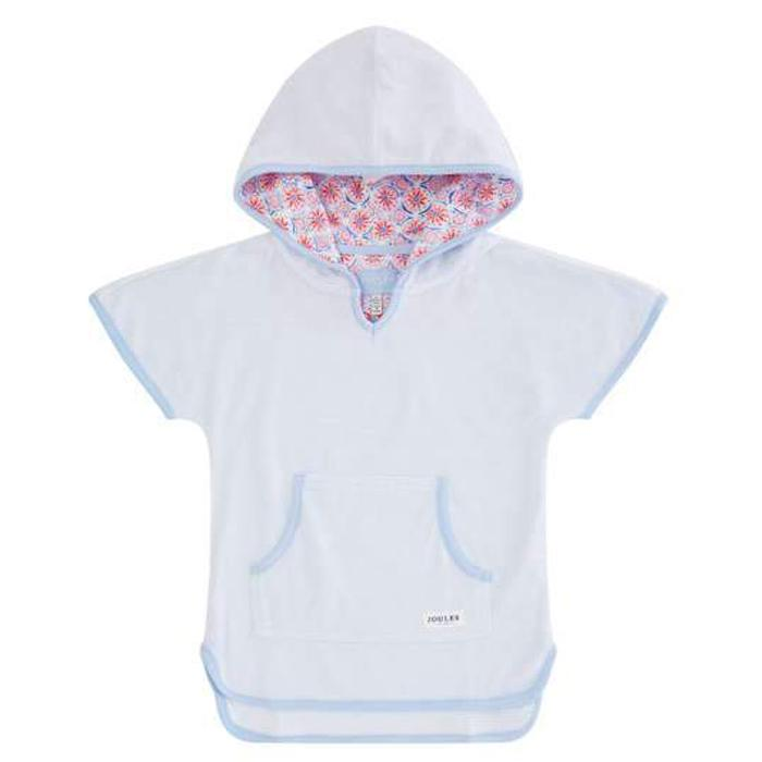 Girls Seashore Towelling Coverup - Joules - joannas-cuties