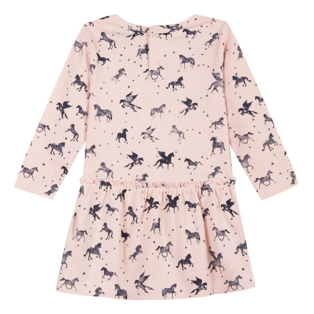 Girls Unicorn Dress - 3 Pommes - joannas-cuties