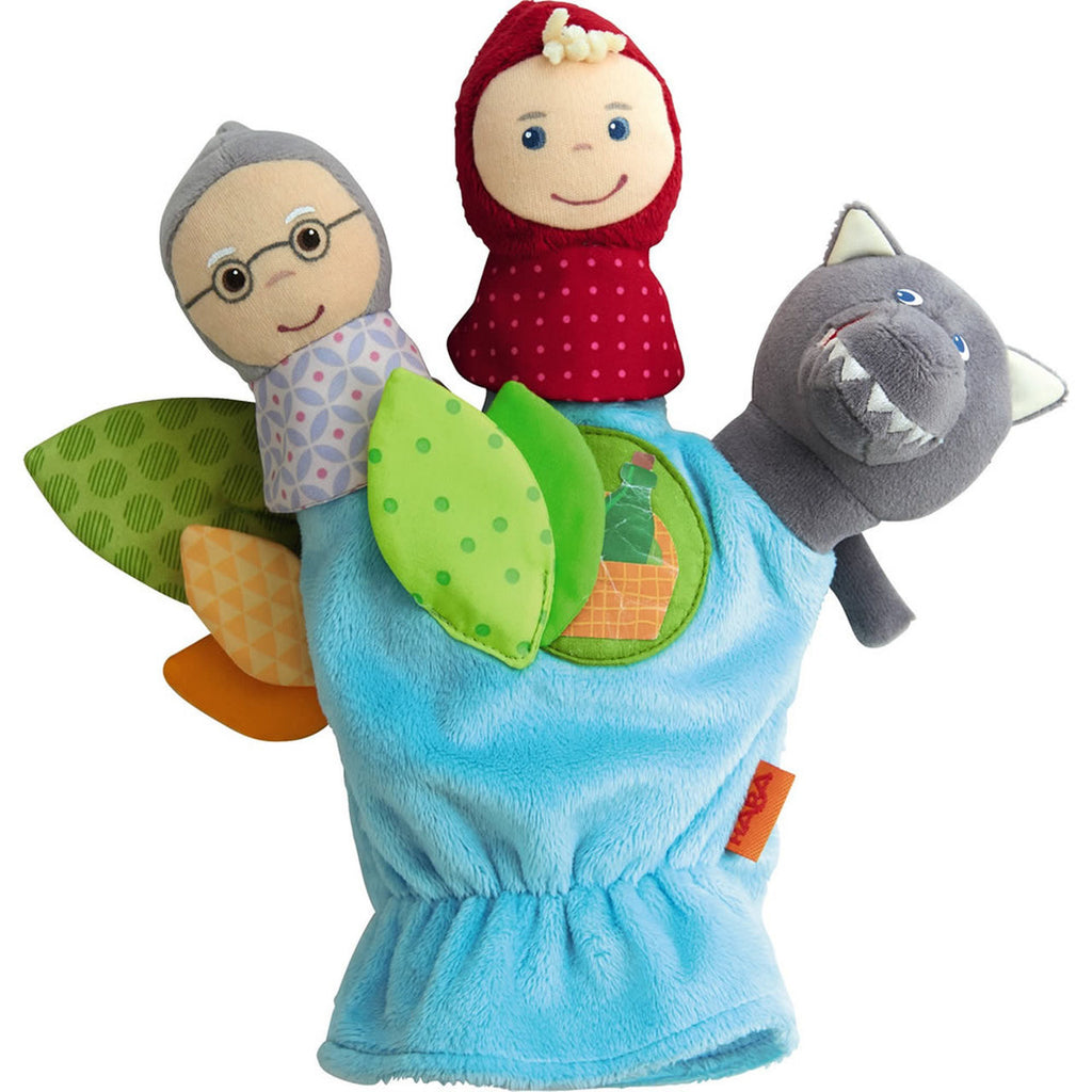 Glove Puppet Little Red Riding Hood, Haba - Joanna's Cuties