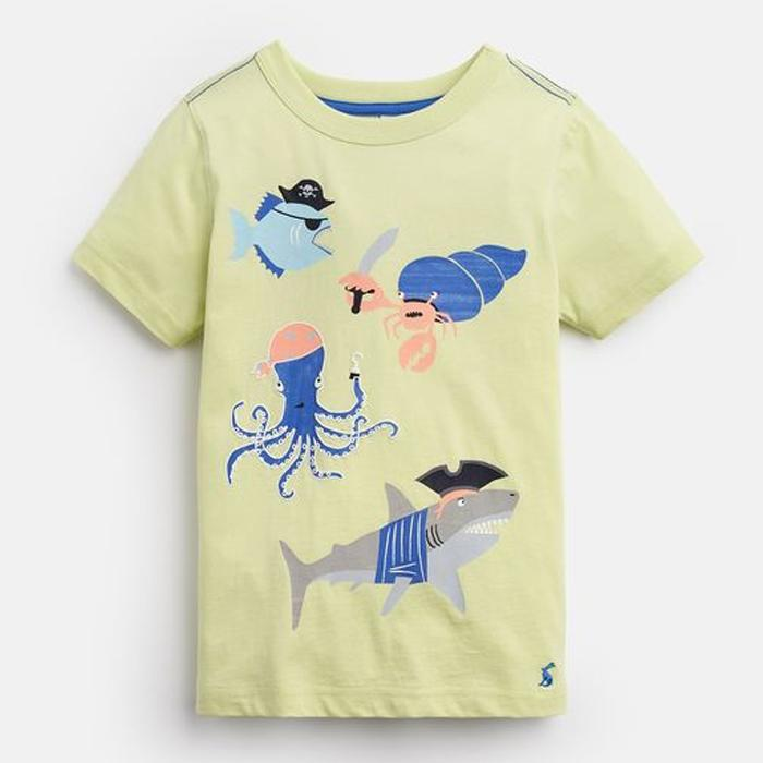 Glow In The Dark T-Shirt - Joules - joannas-cuties