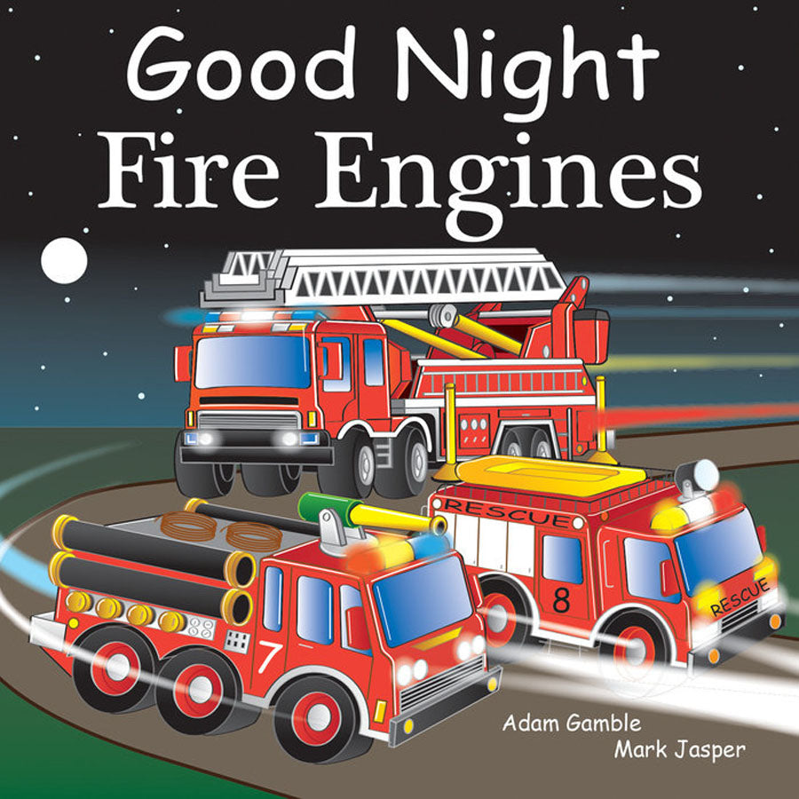 Good Night Fire Engines-Penquin Random House-Joanna's Cuties