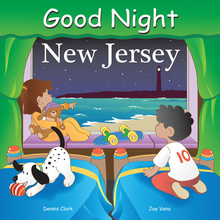 Good Night New Jersey Book-Penquin Random House-Joanna's Cuties