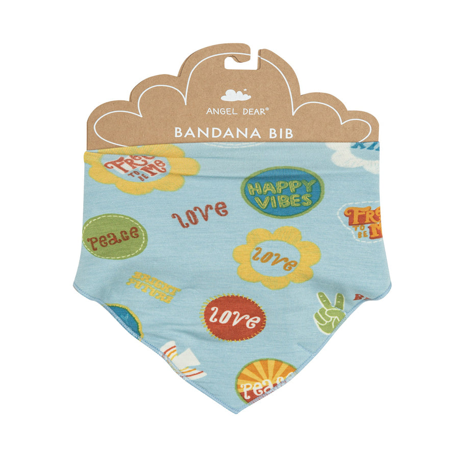 Good Vibes Bandana Bib-Angel Dear-Joanna's Cuties
