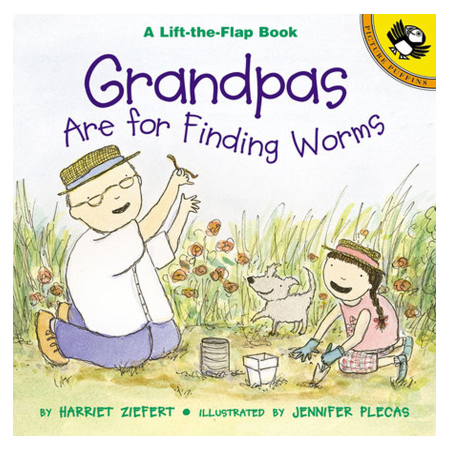 Grandpas Are for Finding Worms-Penquin Random House-Joanna's Cuties