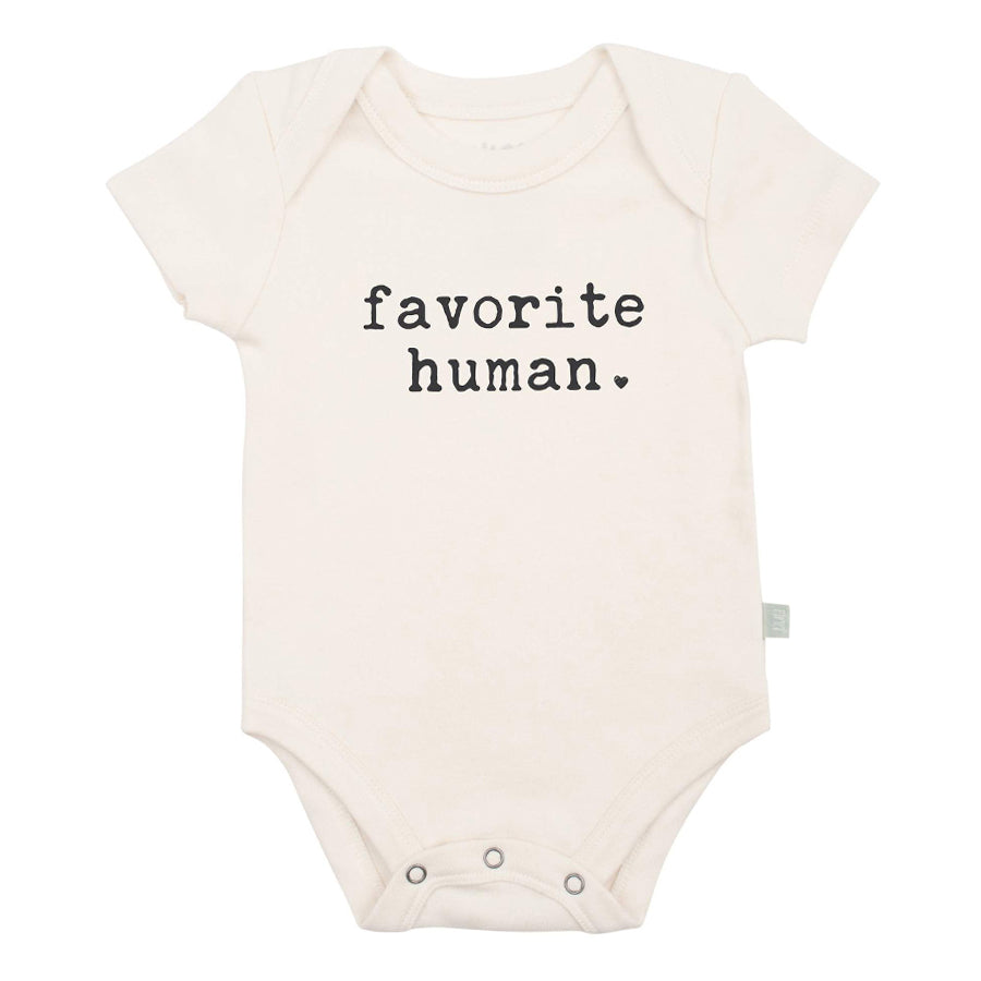 Graphic Bodysuit - Favorite Human-Finn + Emma-Joanna's Cuties