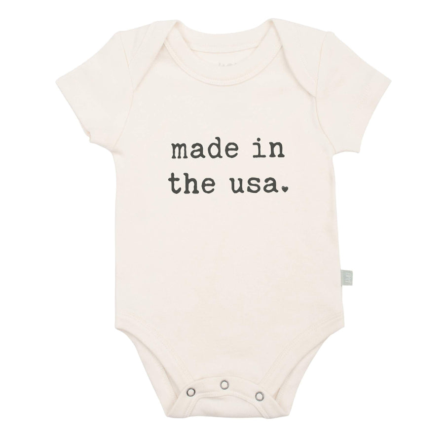 Graphic Bodysuit - Made In USA-Finn + Emma-Joanna's Cuties