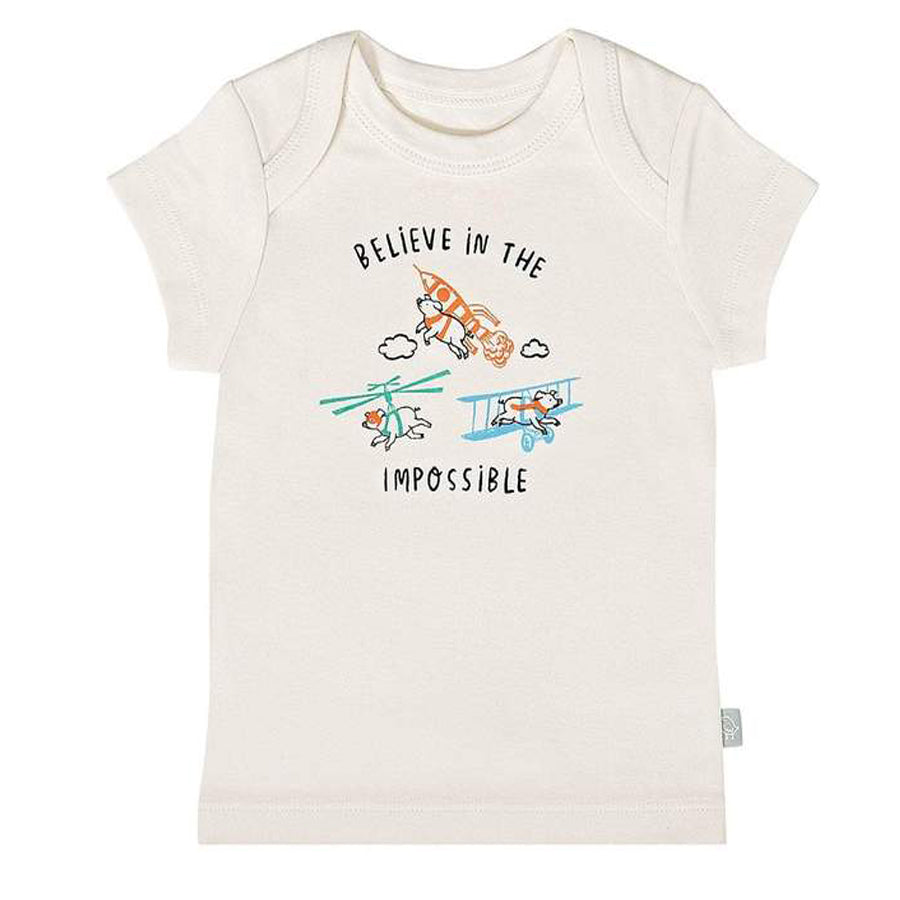 Graphic Tee - Believe In The Impossible-Finn + Emma-Joanna's Cuties