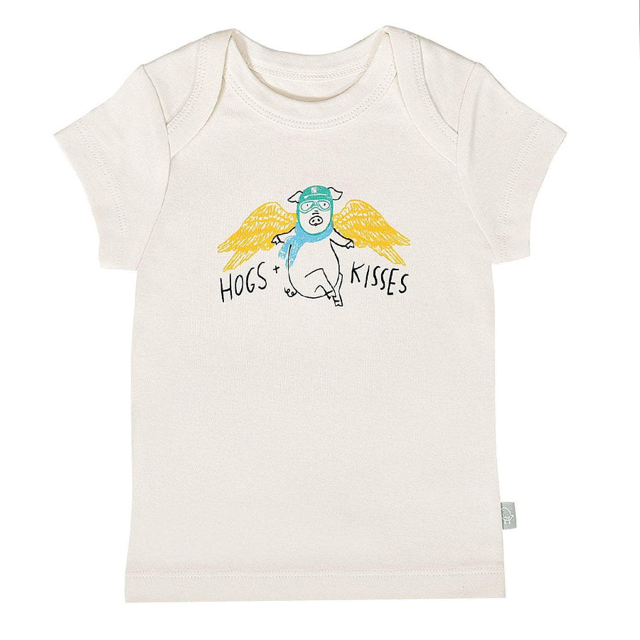 Graphic Tee - Hogs And Kisses