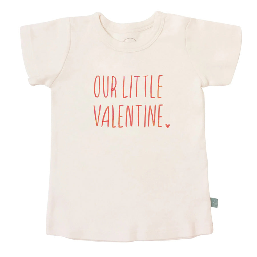 Graphic Tee - Our Little Valentine-Finn + Emma-Joanna's Cuties