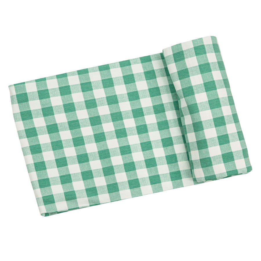 Green Gingham Swaddle Blanket-Angel Dear-Joanna's Cuties