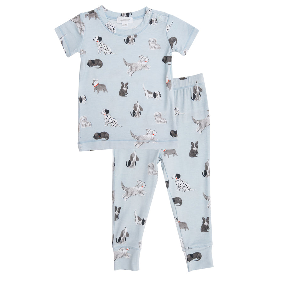 Grey Hounds Lounge Wear Set - Grey-Angel Dear-Joanna's Cuties