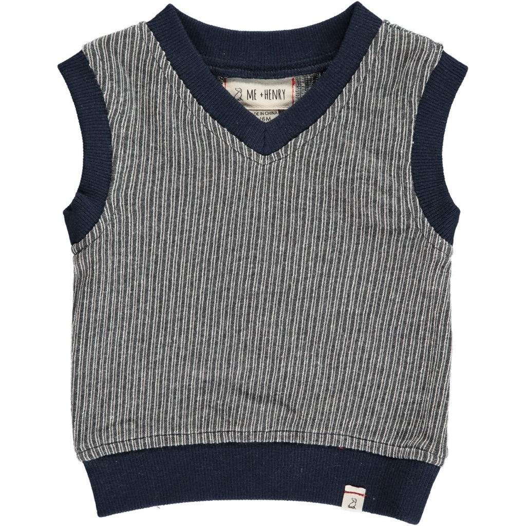 Grey Knitted Tanktop - Me + Henry - joannas-cuties