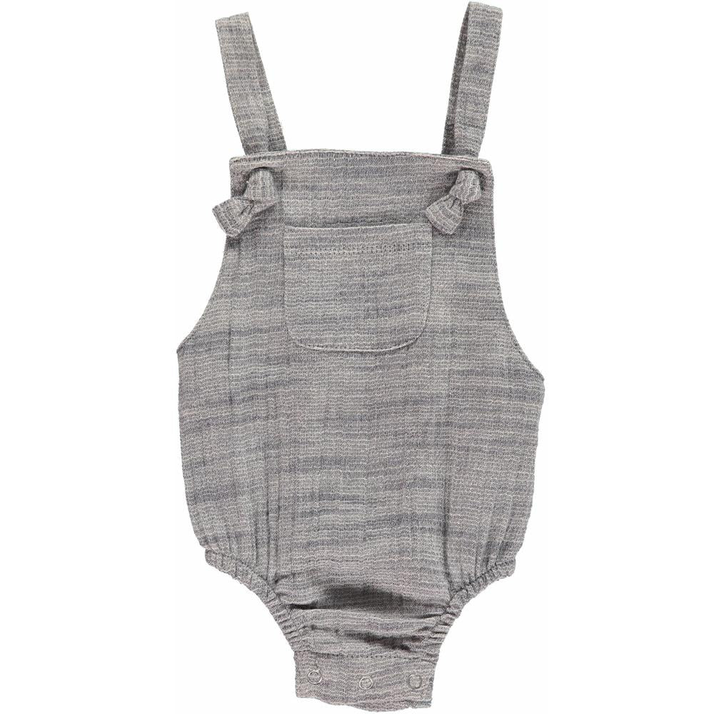 Grey Woven Knotted Bubble - Me + Henry - joannas-cuties