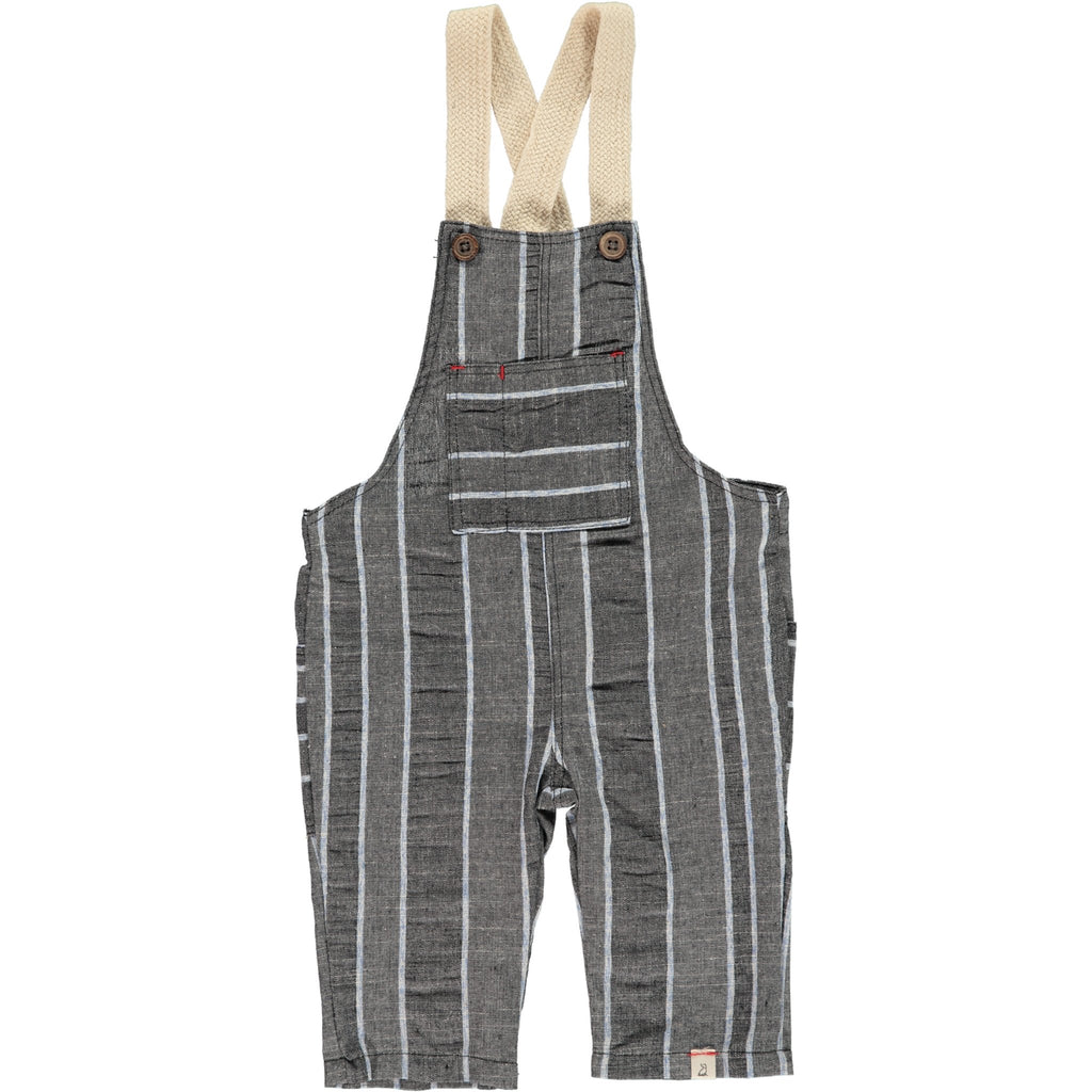 Grey woven overalls-Me + Henry-Joanna's Cuties