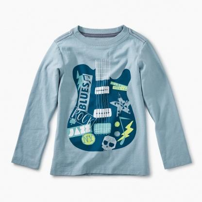 Guitar Graphic Tee-Tea-joannas_cuties