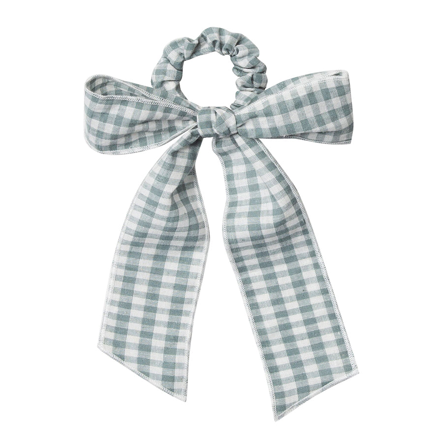Hair Scarf Tie Scrunchie - Gingham-Rylee + Cru-Joanna's Cuties