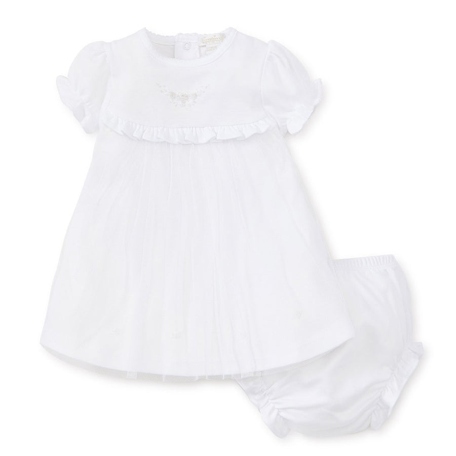 Hand Embroidery  Premier Special Occasion Dress Set - Kissy Kissy - joannas-cuties