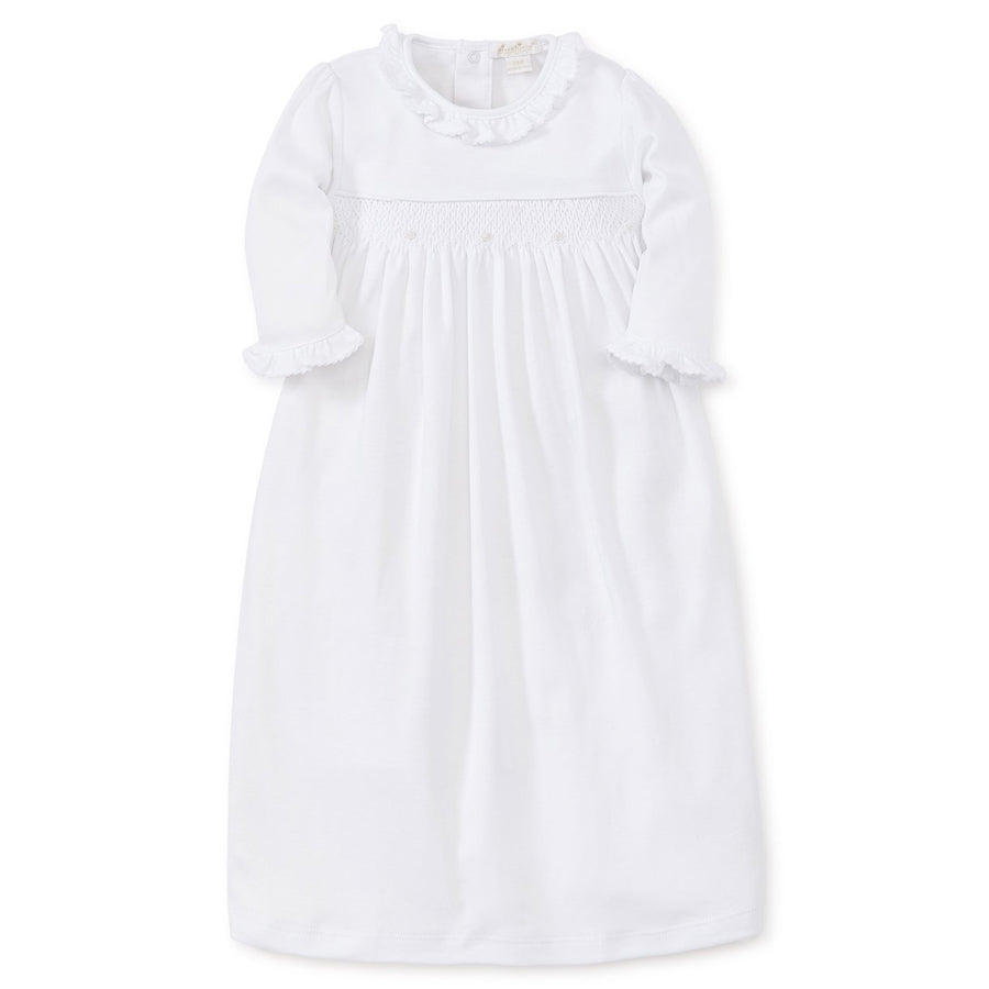 Hand Smocked Premier Special Occasion Day Gown - Kissy Kissy - joannas-cuties