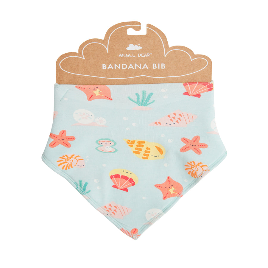 Happy Shells Bandana Bib