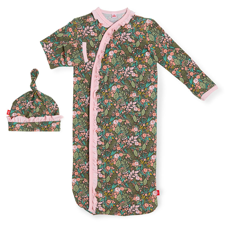 Harlow Modal Magnetic Sack Gown + Hat Set-Magnetic Me-Joanna's Cuties