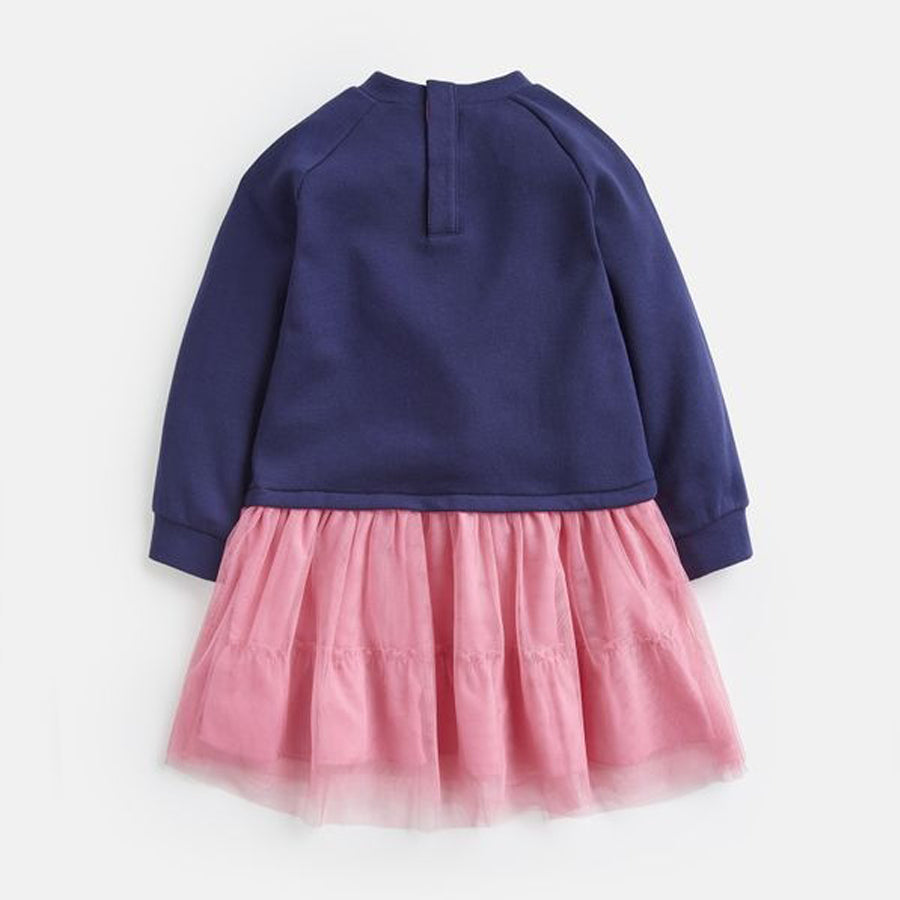 Hettie Tutu Sweat Dress - Joules - joannas-cuties
