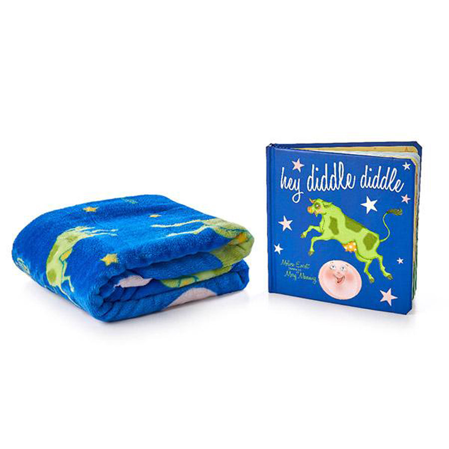 Hey Diddle Diddle Book And Blanket Set-Binks And Books-Joanna's Cuties