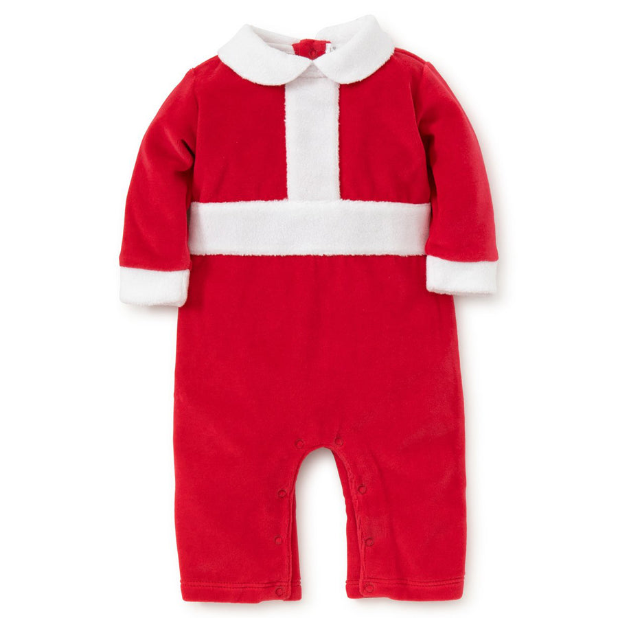 Holidaze Velour Playsuit - Kissy Kissy - joannas-cuties