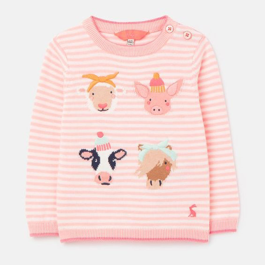 Holly Intarsia Sweater-Joules-Joanna's Cuties