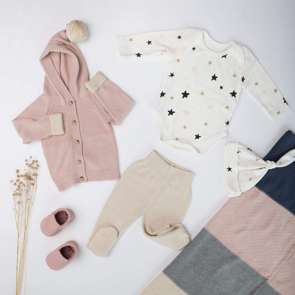 Hooded Cardigan - Grey - Tun Tun - joannas-cuties