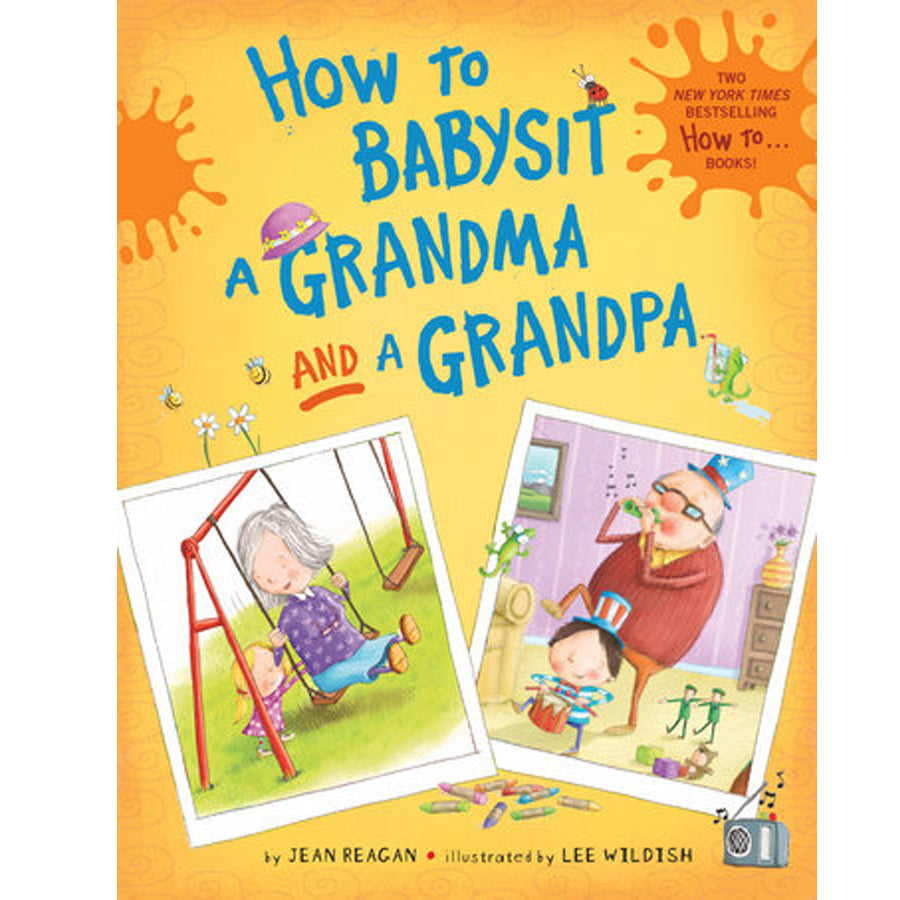 How to Babysit a Grandma and a Grandpa boxed set-Penquin Random House-Joanna's Cuties