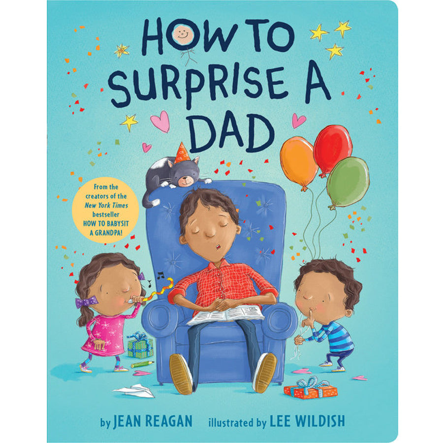 How to Surprise a Dad-Penquin Random House-Joanna's Cuties