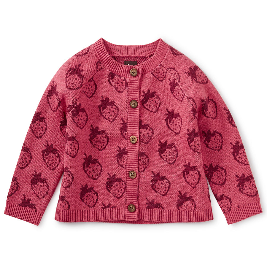 Icon Baby Cardigan - Fresh Fresas-Tea-Joanna's Cuties