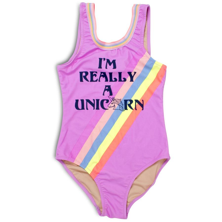 I'm Really a Unicorn Scoop Swimsuit (Unicorn changes color in the sun)-Shade Critters-joannas_cuties