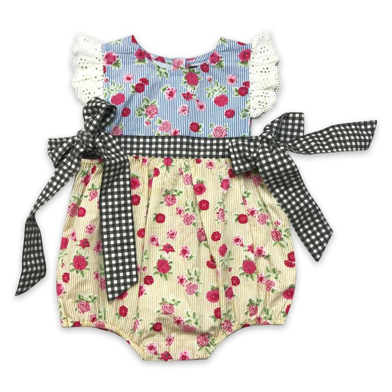 Imogen Romper- Strawberry Fields - Mustard Pie - joannas-cuties