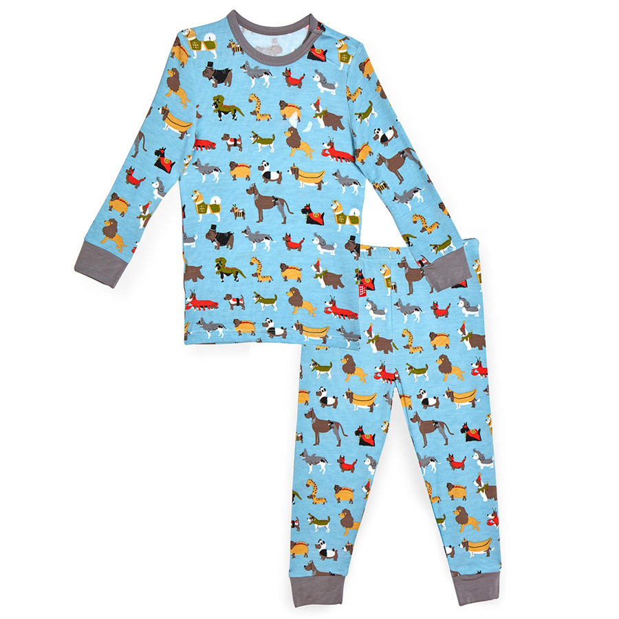 In-Dog-Nito Modal Magnetic Toddler Pajama Set-Magnetic Me-Joanna's Cuties