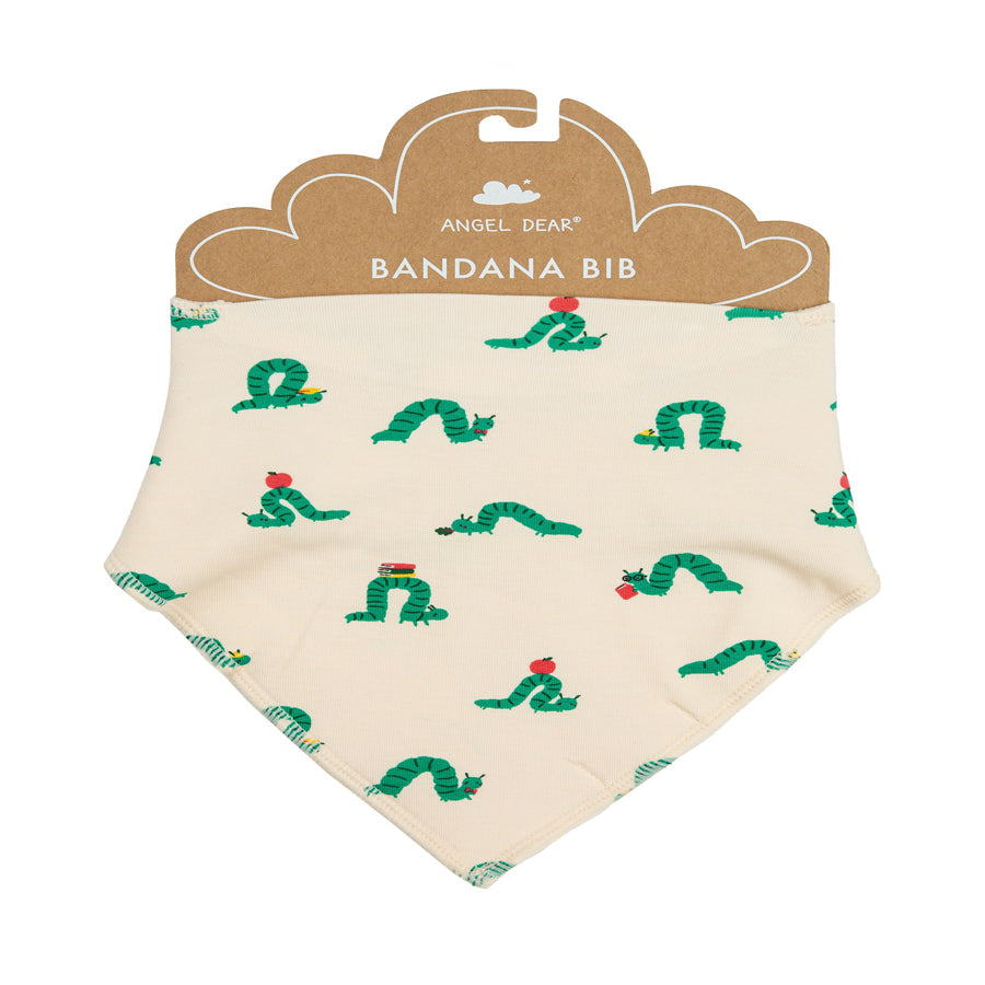 Inchworm Bandana Bib-Angel Dear-Joanna's Cuties