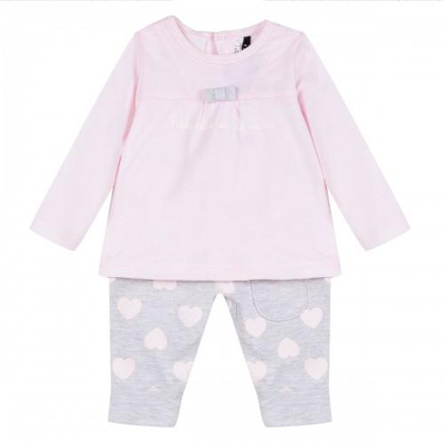 Infant Girls Set - Pink, 3 Pommes - Joanna's Cuties