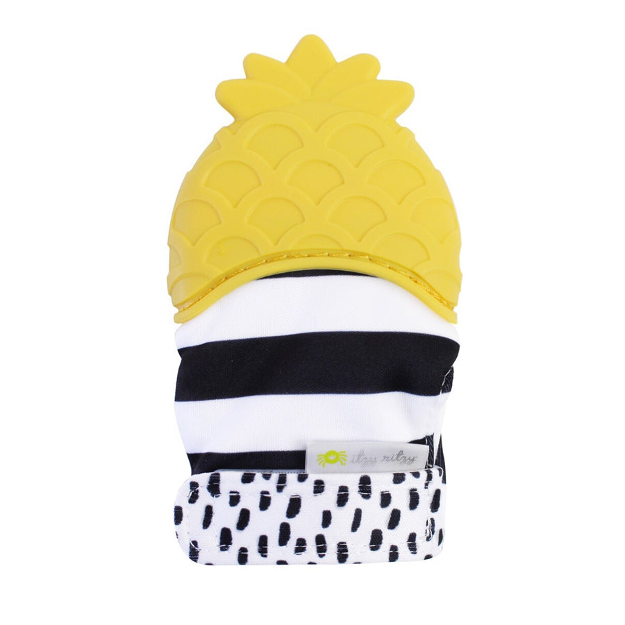 ITZY MITT™ Teething Mitts- Pineapple-Itzy Ritzy-Joanna's Cuties
